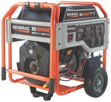 GENERAC Portable Generator 10 000 Rated Watts