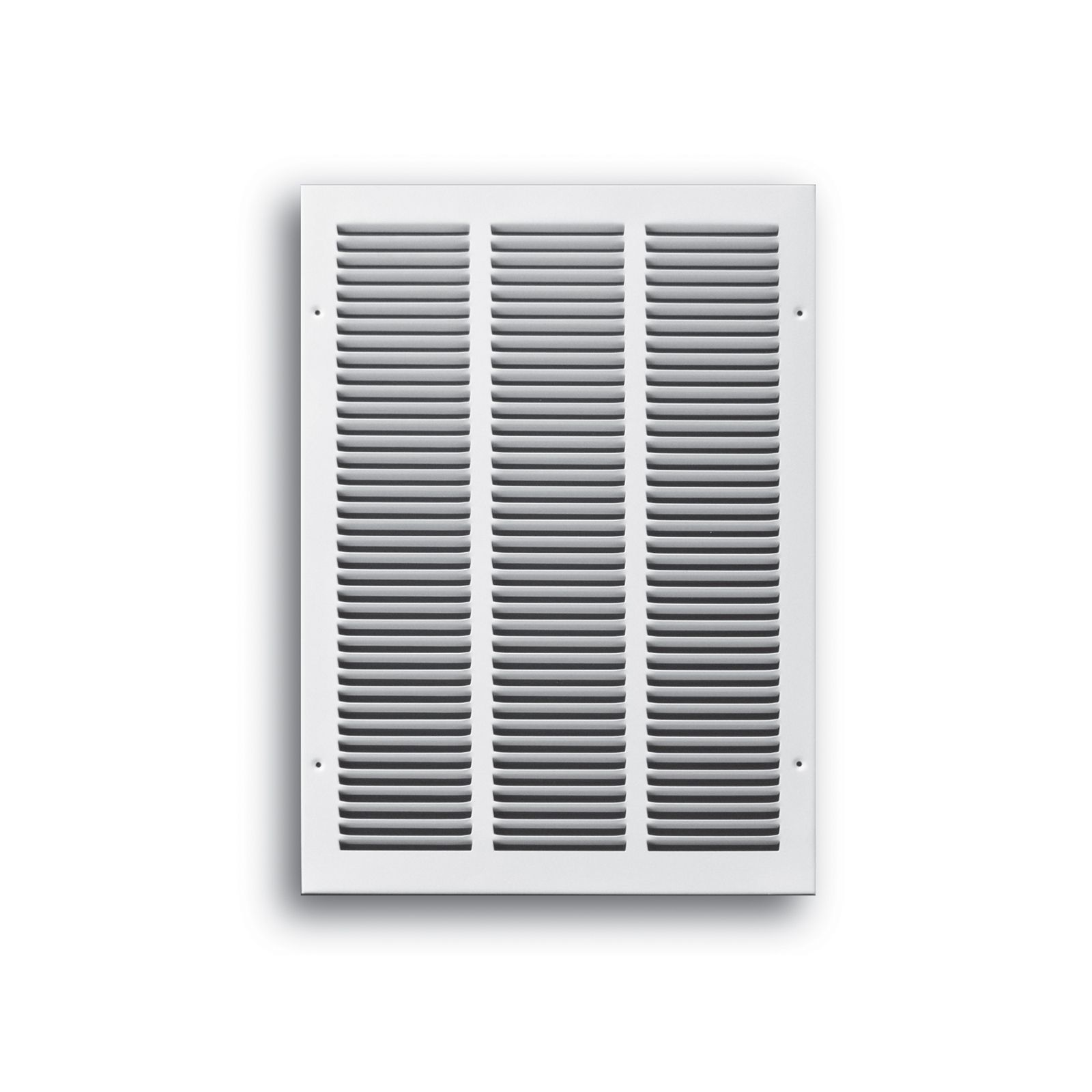 "TRUaire 170 12X36 - Steel Return Air Grille - 1/2"" Spaced Fin, White, 12"" X 36"""