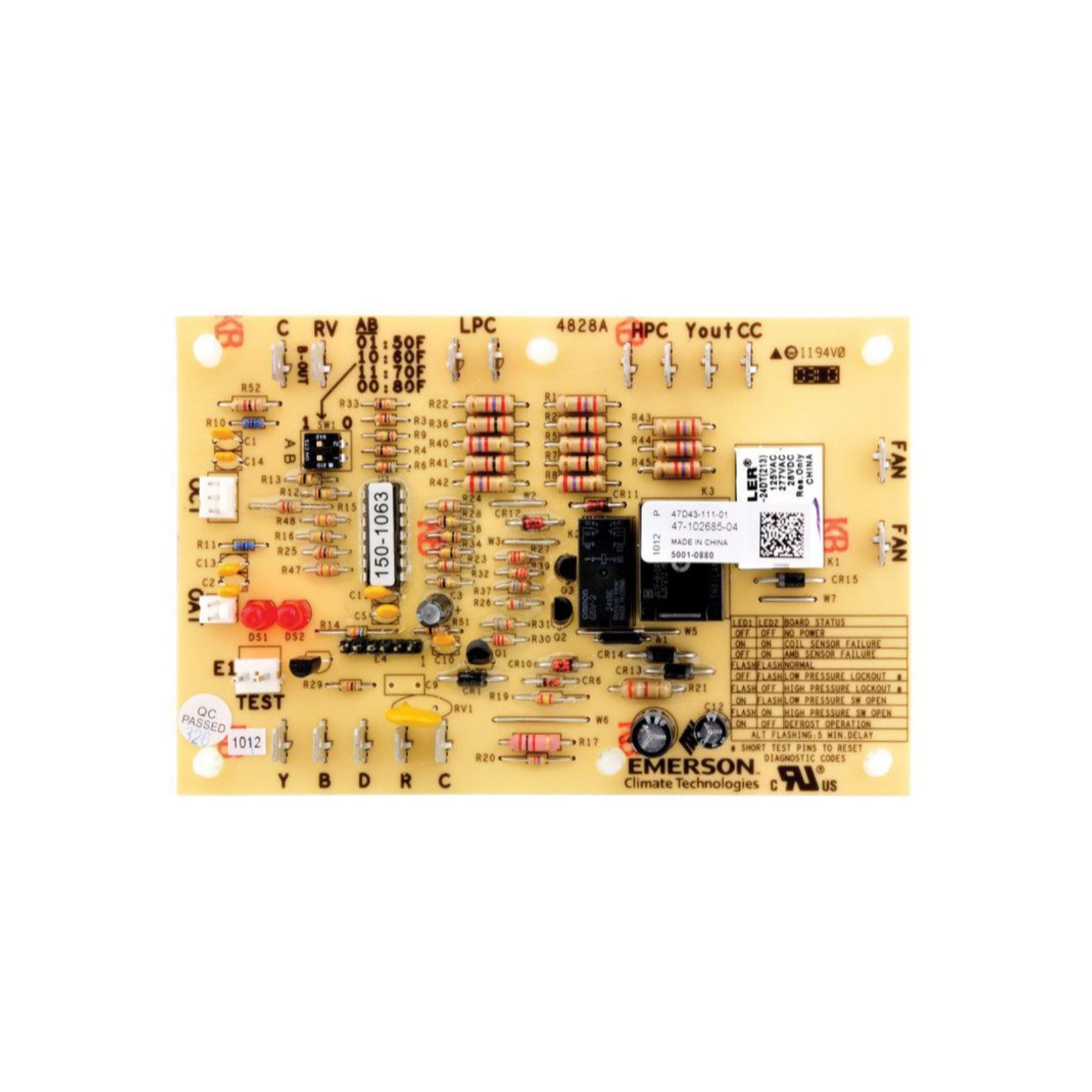 PROTECH 47-102685-84 - Defrost Control Board