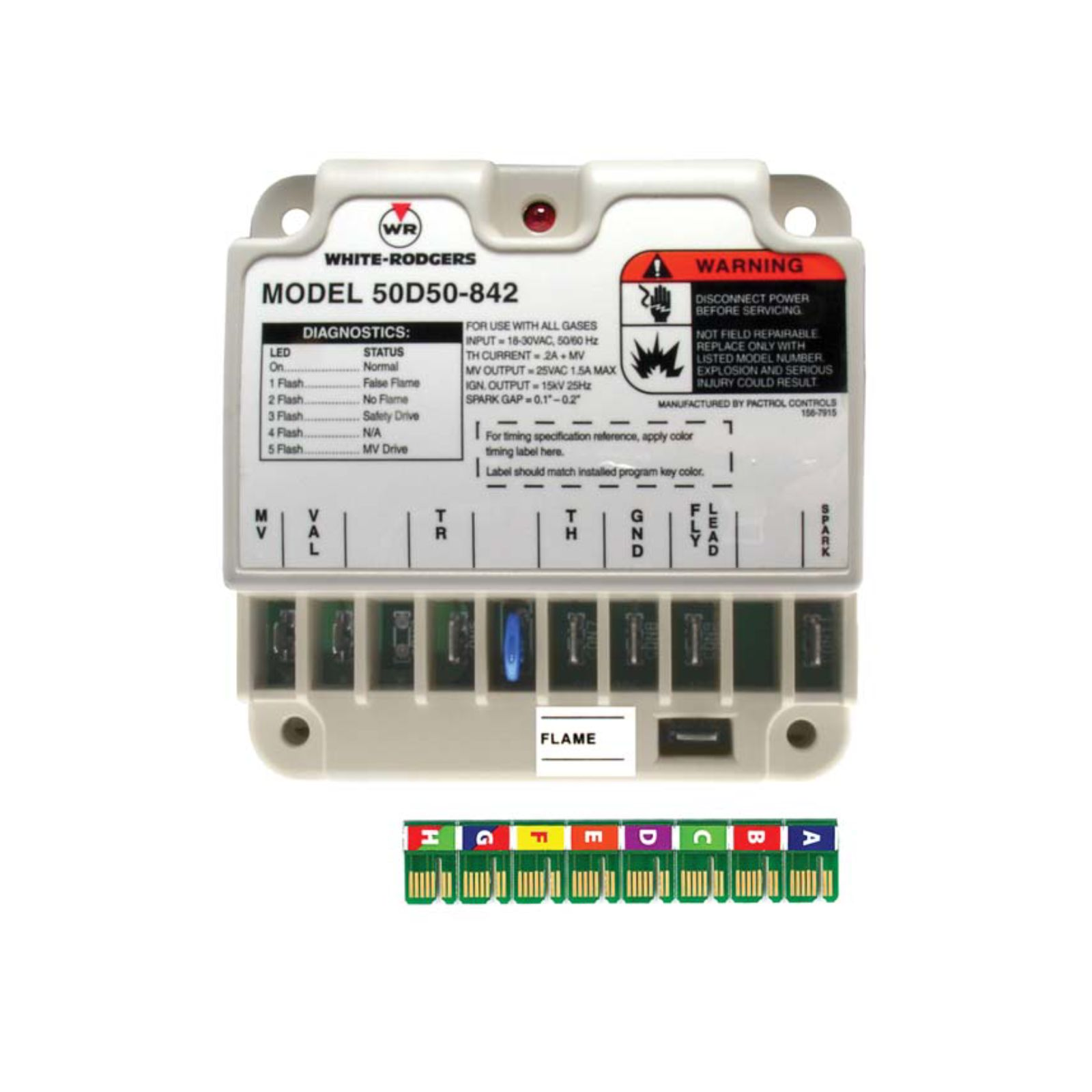 White-Rodgers 50D50-842 - White-Rogers Universal Direct Spark Ignition Control For All Gases