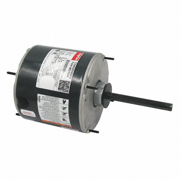 DAYTON 1/3 HP Condenser Fan Motor,Permanent Split Capacitor,1075 Nameplate RPM,460 Voltage,Frame 48YZ