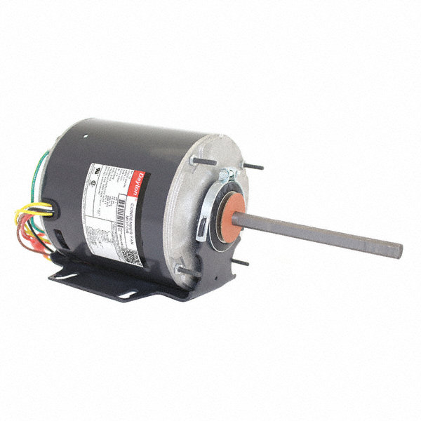DAYTON 1/2 HP Condenser Fan Motor,Permanent Split Capacitor,1075 Nameplate RPM,208-230 Voltage,Frame 48YZ