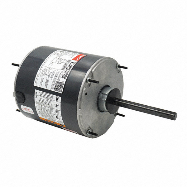 3/4 HP Condenser Fan Motor,Permanent Split Capacitor,1075 Nameplate RPM,208-230 Voltage,Frame 48YZ