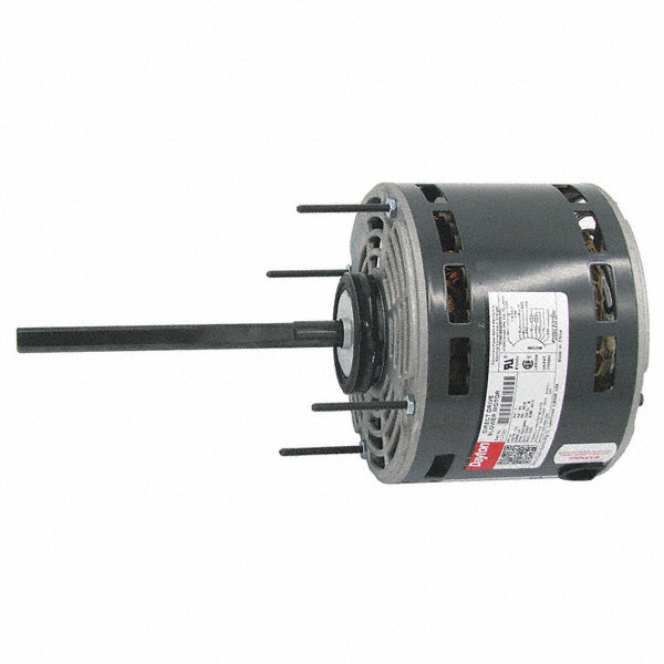 DAYTON 1/4 HP Direct Drive Blower Motor, Permanent Split Capacitor, 1625 Nameplate RPM, 115 Voltage