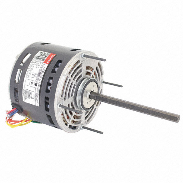DAYTON 1/4 HP Direct Drive Blower Motor, Permanent Split Capacitor, 1625 Nameplate RPM, 208-230 Voltage