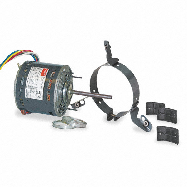 DAYTON 1/3 HP Direct Drive Blower Motor, Permanent Split Capacitor, 1075 Nameplate RPM, 115 Voltage