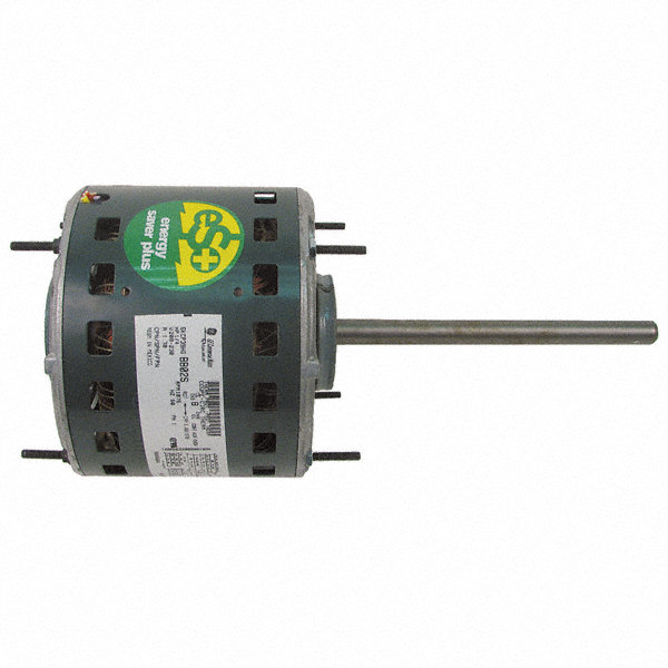 GENTEQ 1/2 HP Direct Drive Blower Motor, Permanent Split Capacitor, 1075 Nameplate RPM, 277 Voltage