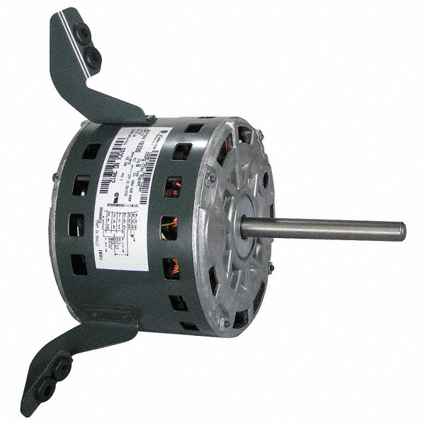 GENTEQ 1/3 HP Direct Drive Blower Motor, Permanent Split Capacitor, 1075 Nameplate RPM, 115 Voltage