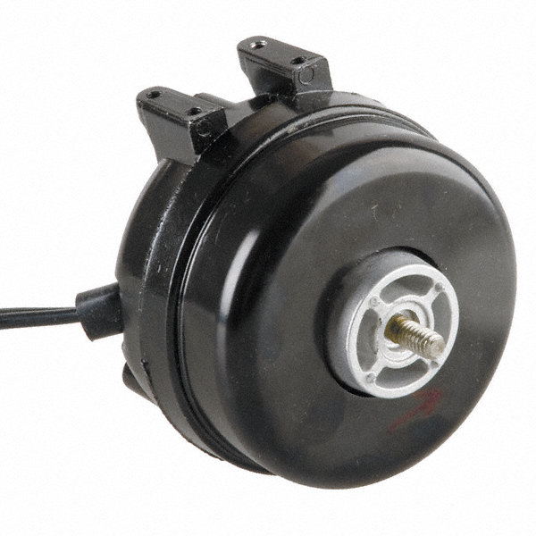 1/185 HP Unit Bearing Motor, Shaded Pole, 1550 Nameplate RPM,230 Voltage, Frame Non-Standard