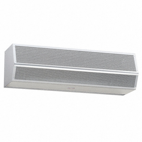 MARS AIR DOORS Air Curtain, 4 ft. Max. Door Width, 12 ft. Max. Mount Ht., 70 dBA @ 10 Feet, 4000 fpm