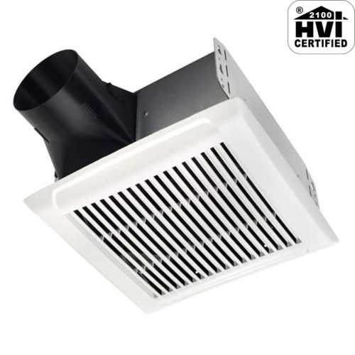 NuTone AEN50 InVent Series 50 CFM 0.5 Sone Ceiling Mounted HVI Certified Bath Fan