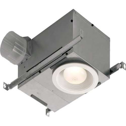 NuTone 744SFLNT Recessed Fan / Light with Humidity Sensing