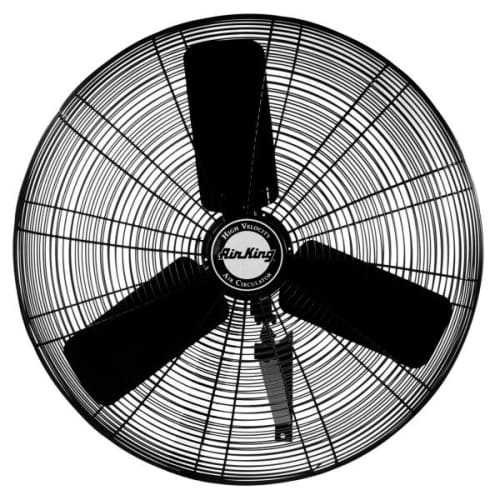 Air King 9030 30' 7400 CFM 3-Speed Industrial Grade Wall Mount Fan