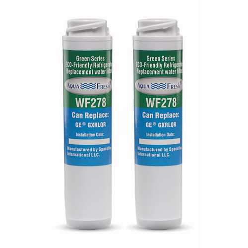 AquaFresh Replacement Filter for Aqua Fresh GXRLQR / WF278 (2-Pack)