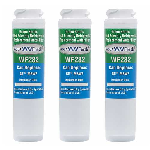 Aqua Fresh Replacement Water Filter Cartridge for GE PSHS6RGXBDSS - (3 Pack)