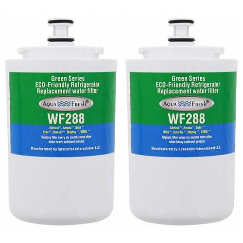 Aqua Fresh Replacement Water Filter Cartridge for Maytag UKF7003 / FILTER 7 / WF288 (2 Pack)