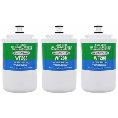 Aqua Fresh Replacement Water Filter for Maytag MSD2432GRW Refrigerators (3 Pack)