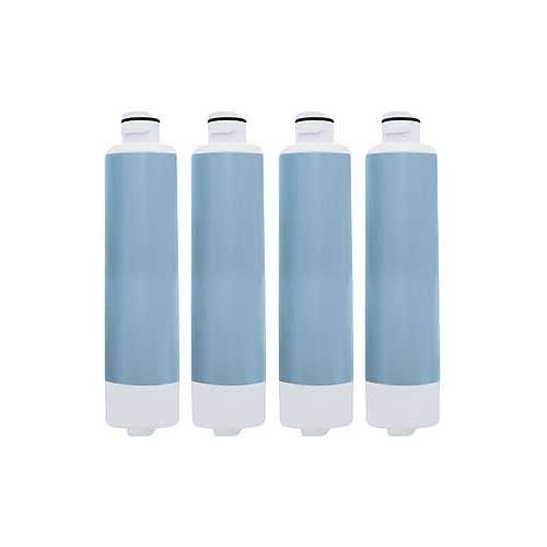 Aqua Fresh Replacement Water Filter f/ Samsung RS25H5000SR / RF30HDEDTSR Refrigerator Model 4 Pk