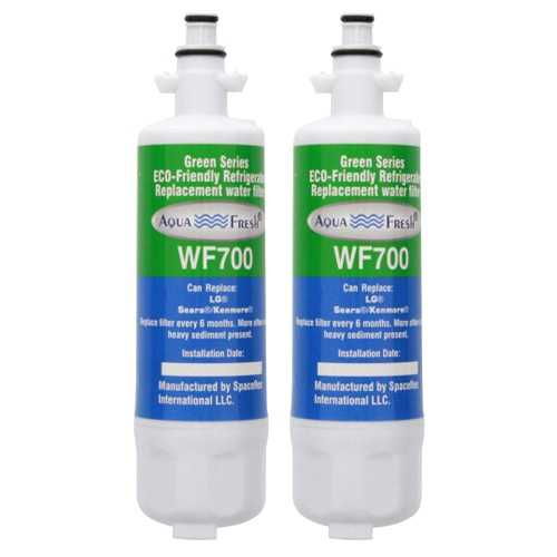 Aqua Fresh Water Filter For Kenmore 74025 Refrigerators - 2 Pack