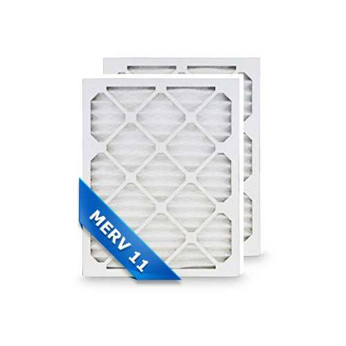 Replacement Air Filter for Honeywell 20x25x4 MERV 11 (2-Pack) Replacement Air Filter