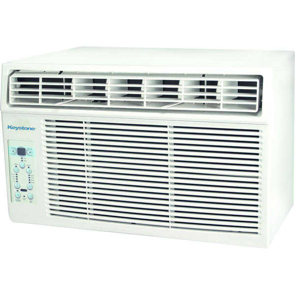 Keystone KSTAW06C 6,000 BTU 115V Window-Mounted Air Conditioner with 'Follow Me' LCD Remote Control