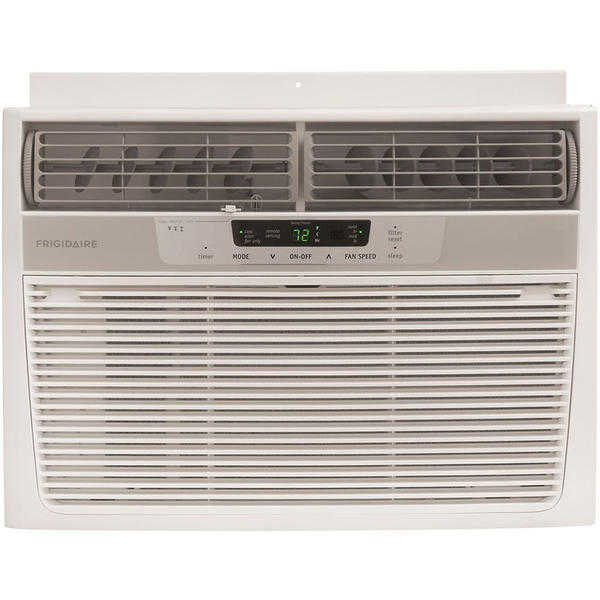 Frigidaire FRA123CV1 12,000 BTU 115-Volt Window-Mounted Compact Air Conditioner with Full-Function Remote Control