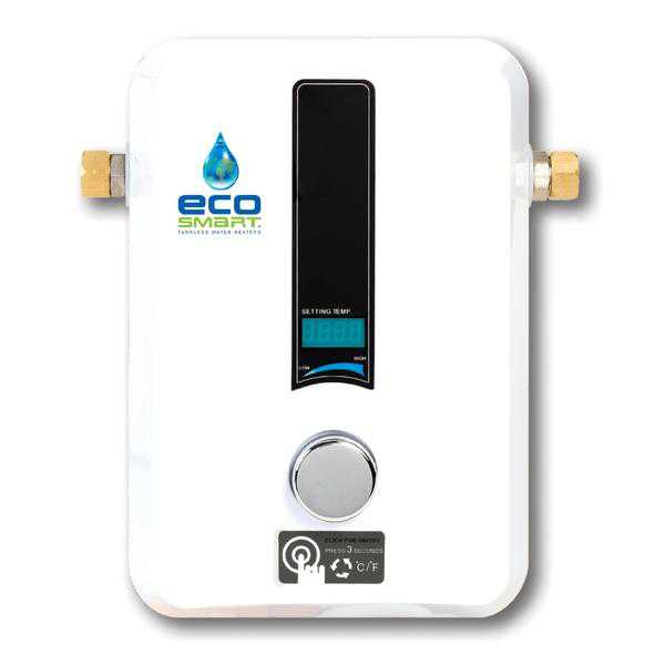 EcoSmart ECO 11 Self Modulating Tankless Water Heater with Patented Self Modulating Technology