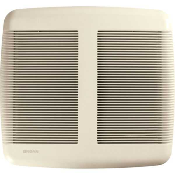 Broan QTR080 - Very Quiet Bathroom Fan, White Grille, 80 CFM