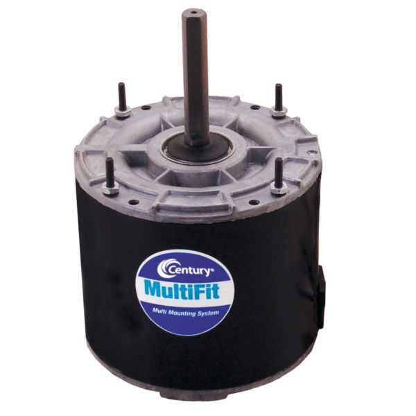 Century 9724 - Condenser Fan Motor 1/4-1/5-1/6 HP, 1625 RPM, 1 Speed, 208-230 V, Reversible, TEAO