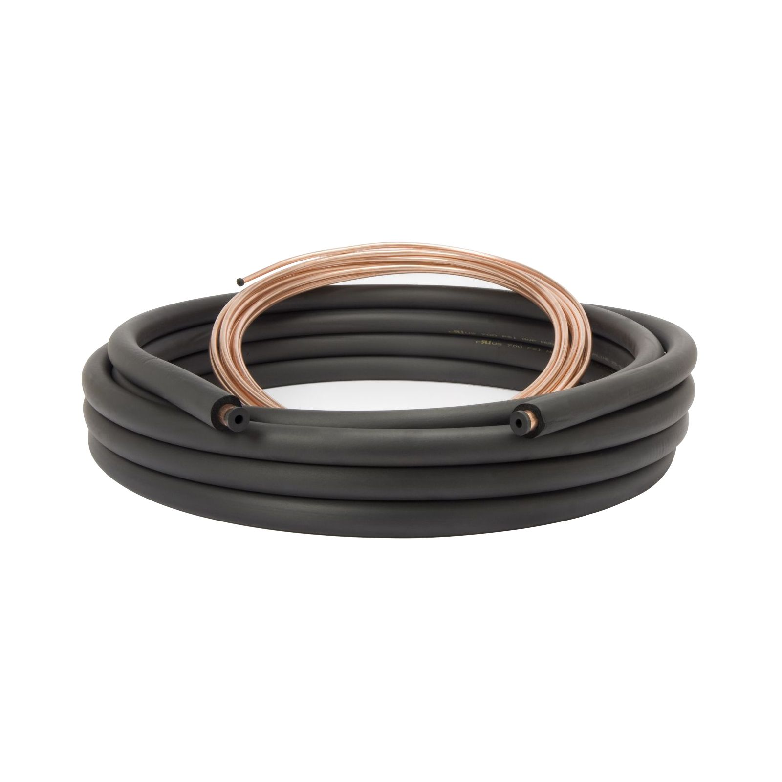 "Streamline 61220200 - Copper Line Set 3/8"" x 3/4"" x 1/2"" Insulation, 20' Length I.D."