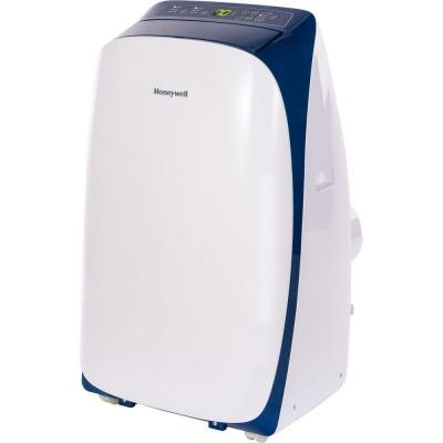 HL Series 10,000 BTU Portable Air Conditioner with Remote Control - White/Blue