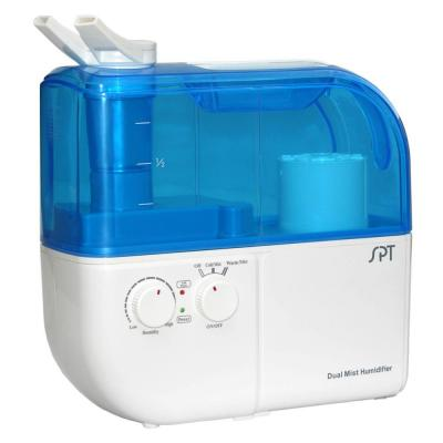 Dual-Mist (Warm/Cool) Ultrasonic Humidifier