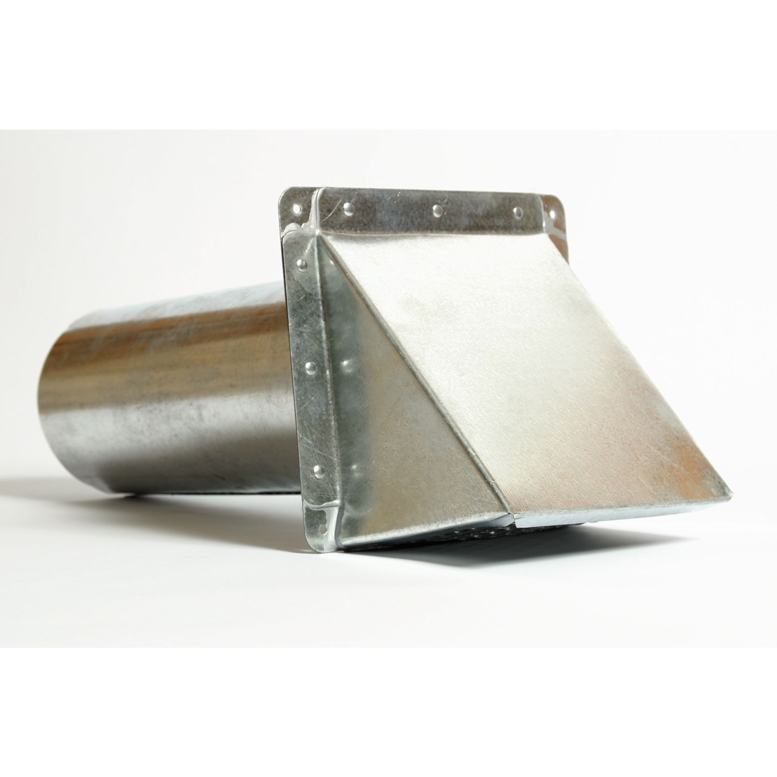 Miami Tech SWCD8 - Galvanized Steel - Side Wall Cap with Damper, 8""